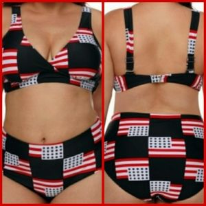 Other - *Plus Size* 🇺🇸 🏊♀️ American Flag Swimsuit